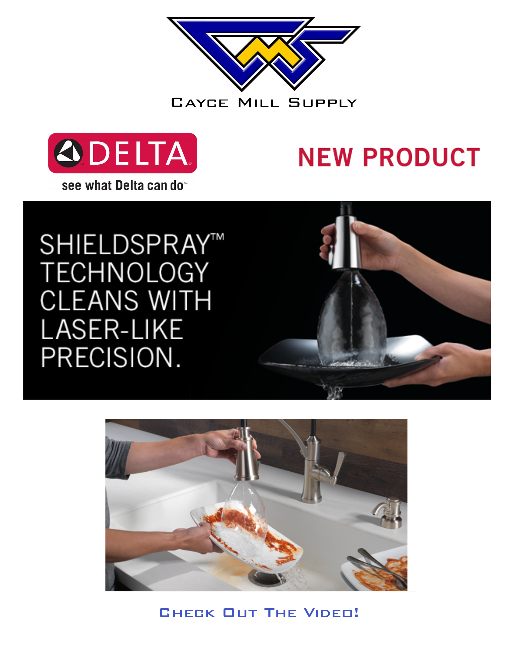 Delta ShieldSpray Technology