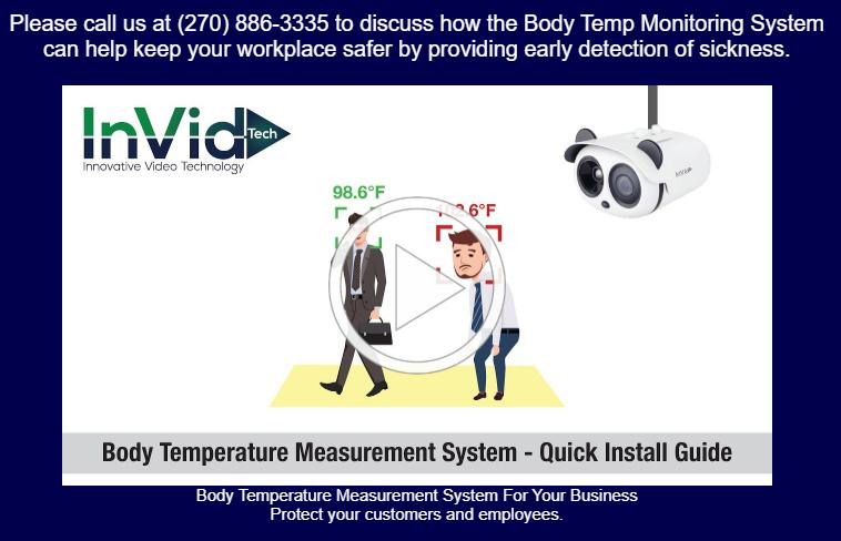 Body Temp Monitoring System – Video